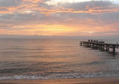 Sabal_Beach_Belize_Sunrise_Dock